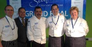 Young Seafood Chef of the Year 2018 open